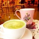 ชาเขียวร้อน นมสดร้อน