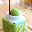 Green Tea Float (65 บาท)