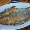 ปลาทับทิมอบสมุนไพร