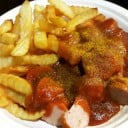 Curry Combo... (2 Sausage & French Fries)