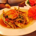 Stir Fried Crab With Yellow Curry Powder