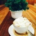 Hot Espresso Con Panna