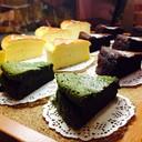 Matcha Flourless Cake