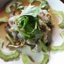 กุ้งแช่น้ำปลา (70.-)