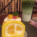 Mango Roll กับ Matcha Latte