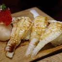 Engawa Sushi 120฿ ต่อคำ ชอบเป็นพิเศษเลยจัดมา 3 คำครับ