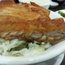 steamed rice w pork rib (49 hkd)