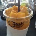 มะม่วงสดปั่น (Mangoes Smoothie)