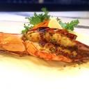 กุ้งลายเสือย่างซอสพริกไทยดำ