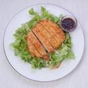 สลัดหมูทอดทงคัตสึ ทานกับโฮมเมดน้ำสลัดงาญี่ปุ่นอร่อยๆ ไร้ผงชูรส
