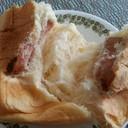 ขนมปังนุ่มมาก แต่ไส้น้อยมาก ไส้กรอกคุณภาพกลางๆ