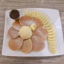 อีกเมนูฮิต อันนี้เราเพิ่มไอศกรีม กล้วย และซอสนูเทลล่าต่างหาก เคล็ดลับบอกต่อ