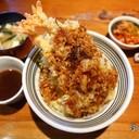 460.- ข้าวหน้ากุ้งเทมปุระ, ปูสุไว, ปลาฮามาจิ