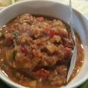 น้ำพริกกุ้งเสียบพร้อมผักสด : กุ้งแน่น เผ็ด เค็ม มัน ดีไม่เบาเลยจณะ