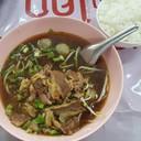 เกาเนื้อ ฿80 ข้าว ฿5
