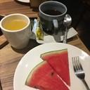 ผลไม้ , ชา/กาแฟ ฟรีในชุดกลางวัน