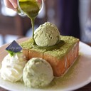 Green tea Toast 175 บาท