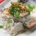 ข้าวแห้งปลา ซี่โครง 80฿