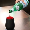 มื้อนี้คงไม่มีเครื่องดื่มอะไรที่ดีไปกว่าซานเพลลีกรีโน น้ำแร่ธรรมชาติชนิดมีฟองจา
