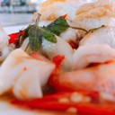 #มื้อเที่ยง #lunch #aoii #กระเพราทะเล #ไข่ดาว @ สามชัยไก่ย่าง #อุบล #ubon