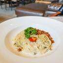 Soy Cabonara Spaghetti (260THB)