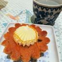 ทานคู่กับครีมชีสรสเปรี้ยวที่ตัดความหวานด้วยผิวส้มแช่อิ่ม