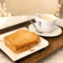 Kaya Peanut Toast (80THB) & Hot Horlicks (65THB)