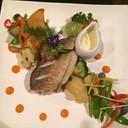 สำหรับคนที่ไม่ทานเนื้อ ก็มีสเต็กปลาseabass fila ปลาสดมากครับอร่อยสุดยอดครับ