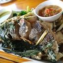 ปลาสดใช้ได้ ทานคู่กับแจ่วอร่อยเข้ากันมาก