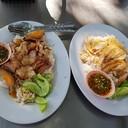 ข้าวหมูแดง&ข้าวหน้าไก่
