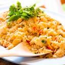 กรรเชียงปูผัดกับข้าว หอมอร่อย เนื้อปูเต็มปากเต็มคำ