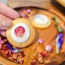 Edible Flower Cookies 🌹