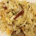 ข้าวผัดรสชาติอร่อยลงตัวด้วย ข้าวหอมมะลิ หมูฮ่องกง signature กุนเชียงและไข่อนามัย