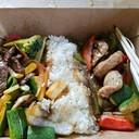 Huge portion, Tender meats, fresh veggies