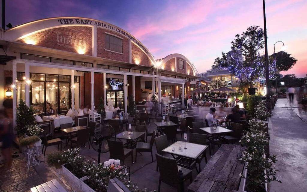 Capri Restaurant Asiatique The Riverfront
