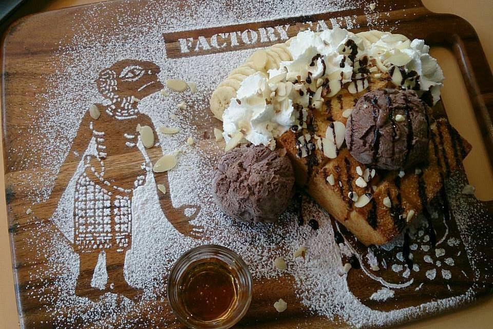 Factory cafe