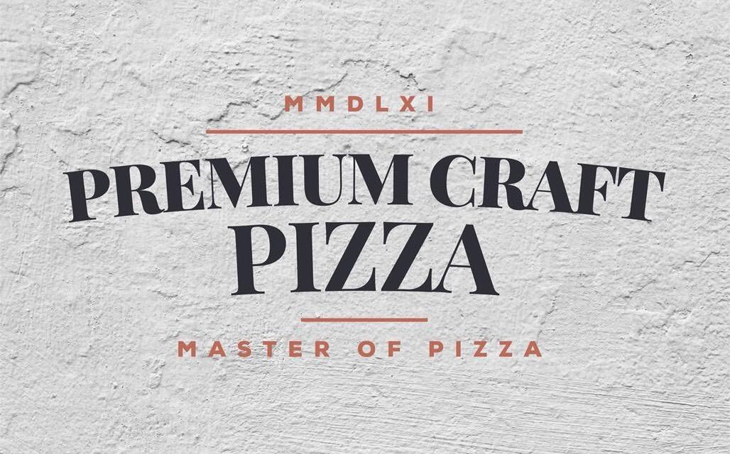 Premium Craft Pizza