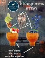 ชาผลไม้ทุกรส ซื้อ1 แถม 1  ตลอดเดือน พฤษภาคม @ Monkey & Me Cafe and Reataurant