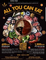 พลาดไม่ได้! โปรพรีเมี่ยม All You Can Eat ฉลองครบรอบ 699++ (Local Premium) และ 1,999++ (Imported Super Premium)