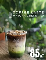 Special : Coffee Latte & Matcha 85 .-