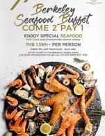 Buffet Dinner ศุกร์-เสาร์ 941ต่อหัว โปรโมชั่นลด 50% จากราคาเต็ม 1,599++ โปรนี้ ถึง มีนาคม 2020 Seafood กุ้ง กั้ง หอย ปูอลาสก้า+ ฟัวกราส์  +กุ้งเผา + บาร์บีคิว