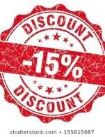 โปรโมชั่น Coupon 15% ลด 15 % เมื่อสั่งเมนูในหมวด Main Dish, Side dish