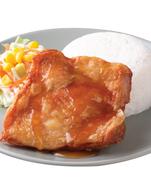 ข้าวไก่กรอบราดซอสนำ้ปลา ราคา 84 บาท