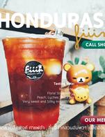 HONDURAS Single Origin Coffee  Tasting Note : Mandarin, Floral Strawberry, Peach, Lychee, Black Tea, Very sweet and Sillky mouthfeel.