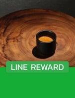 โปรโมชั่น LINE REWARD ลด 100 บาท เมื่อสั่งเมนูในหมวด COF BAG, Chocolate Drink / ช็อคโกแลตและโกโก้, Matcha & Tea / มัทฉะและชา, Refreshing, Black Coffee / กาแฟดำ, White Coffee / กาแฟนม, Sparkling Coffee / กาแฟสปาร์กลิง