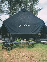 GROVE Cafe & Restaurant เดอะแมนโกรฟ พันวา ภูเก็ต รีสอร์ท
