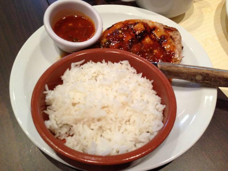 ร้านเบอร์เกอร์ สเต็ก มีไลน์บุฟเฟต์สลัด ซูชิ ผลไม้ ซุป @ Hippopotamus เซ็นทรัล แกรนด์ พระราม 9 on wongnai.com