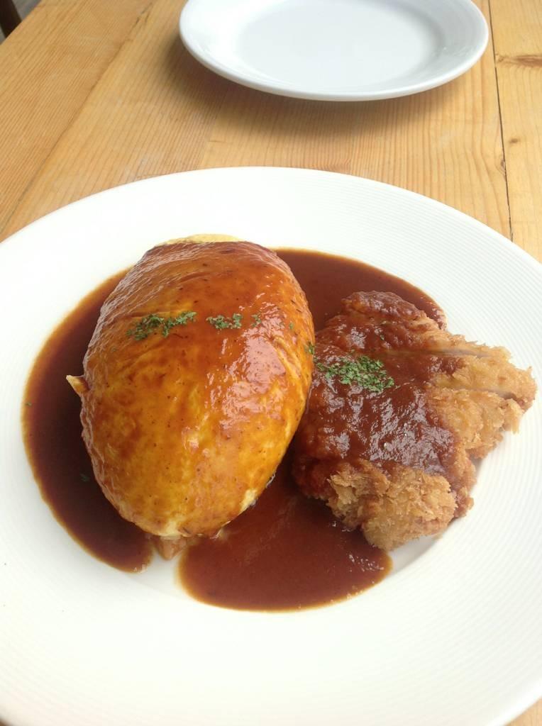 มื้อกลางวัน @omu The parklane @ Omu Japanese omurice & cafe พาร์คเลน เอกมัย on wongnai.com