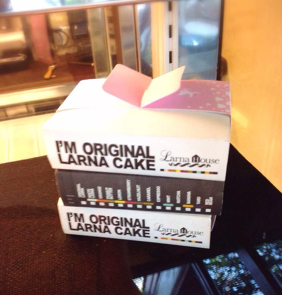 Larna Cake -- แพ๊ค 3 เหมาะสำหรับซื้อเป็นของขวัญ