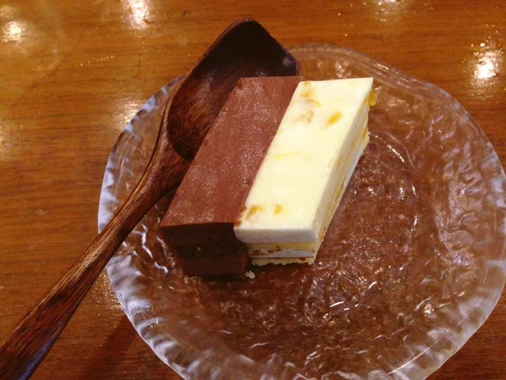 เค้กวานิลลา & ช็อกโกแลต